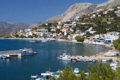 Kalymnos island in Greece Stock Images