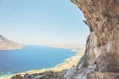 Kalymnos Island, Greece. stock photo