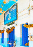 In Kalymnos island in Greece Royalty Free Stock Image
