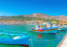 At Kalymnos island royalty free stock photos