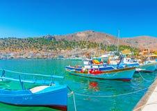 At Kalymnos island Royalty Free Stock Photos