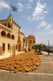 Kalymnos sponges royalty free stock images