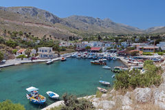 Kalymnoseiland in Griekenland Stock Foto's