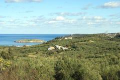 Kalyves village, Crete, Greece Royalty Free Stock Photography