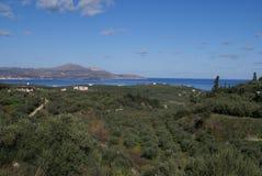 Kalyves village, Crete, Greece Stock Photo