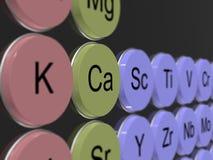 kalzium Stockfoto