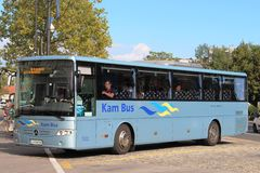 Kam Bus at Ljubljana with a service to Kamnik Royalty Free Stock Photography