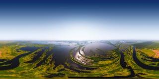 Kama flod Royaltyfria Bilder