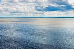 Kama reservoir landscape Stock Image