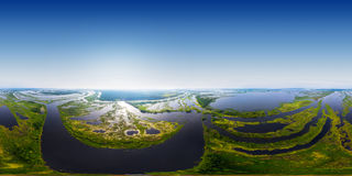 Kama river Stock Image