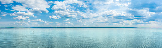 Kama river. Panorama Stock Photography