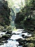 Kamacnik峡谷,克罗地亚 库存照片