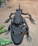 Kamacops acervalis -骨骼-塑象 库存照片