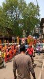 Kamakhya-Tempel, Gauhati, Assam stockfotografie