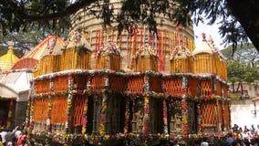 Kamakhya-Tempel, Gauhati, Assam stockfotos