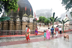 Kamakhya Temple Stock Photo