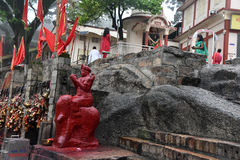 Kamakhya Temple stock photography