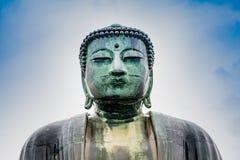KAMAKURA, ΙΑΠΩΝΙΑ, ΣΤΙΣ 14 ΝΟΕΜΒΡΊΟΥ 2015: KÅ  toku-μέσα Βουδιστικός ναός W Στοκ εικόνα με δικαίωμα ελεύθερης χρήσης