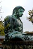 Kamakura ο μεγάλοι Βούδας - Daibutsu Στοκ Εικόνα