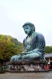 Kamakura ο μεγάλοι Βούδας - Daibutsu Στοκ εικόνα με δικαίωμα ελεύθερης χρήσης