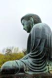 Kamakura ο μεγάλος Βούδας - πλάγια όψη Στοκ φωτογραφία με δικαίωμα ελεύθερης χρήσης