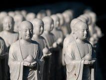 Kamakura 1001 Mönche Stockbild