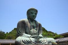 Ο μεγάλος Βούδας Kamakura Στοκ Εικόνα