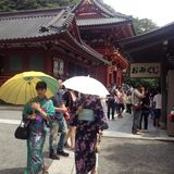 Kamakura Arkivbild