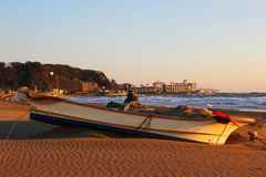 Kamakura beach Stock Photography
