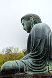 Kamakura Big Buddha - Side View Royalty Free Stock Photography
