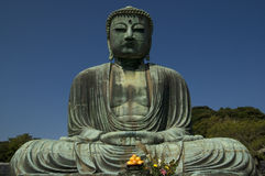 Kamakura Buddha Royalty Free Stock Photo