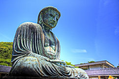 Kamakura Buddha stock photo