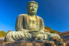 Kamakura Buddha, japan. Stock Photography