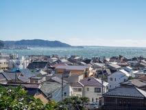Kamakura city view Royalty Free Stock Image