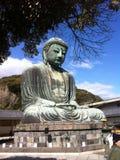 Kamakura Daibutsu, Ιαπωνία Στοκ φωτογραφία με δικαίωμα ελεύθερης χρήσης