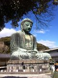 Kamakura Daibutsu, Japan Royaltyfri Foto