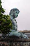 Kamakura grande Buddha - Daibutsu Fotografie Stock Libere da Diritti