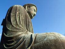 Kamakura, Great Buddha statue Royalty Free Stock Photo