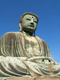 Kamakura, Great Buddha statue Stock Photography