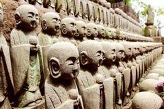 Kamakura Hasedera Sculptures Stock Image