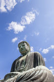 The Great Buddha at Kamakura Stock Photography