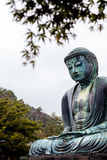 KAMAKURA, JAPAN, NOVEMBER 14, 2015: Kōtoku-in. Buddhist temple w Royalty Free Stock Photos