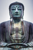 KAMAKURA, JAPON, LE 14 NOVEMBRE 2015 :  de KÅ toku-dans Temple bouddhiste W Images libres de droits
