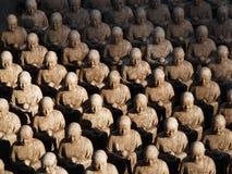 kamakura monks 1001 Arkivfoton