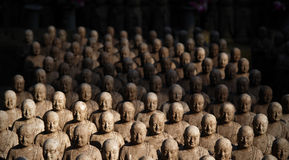 kamakura monks 1001 Arkivfoto