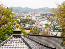 Kamakura town, Japan Royalty Free Stock Photos