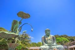 Kamakura Wielki Buddha Zdjęcie Stock