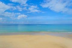 Пляж Kamala в Пхукете Стоковая Фотография RF