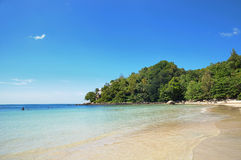 Kamala bay in Thailand Royalty Free Stock Photos