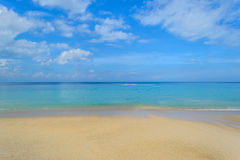 Kamala Beach à Phuket Photographie stock libre de droits